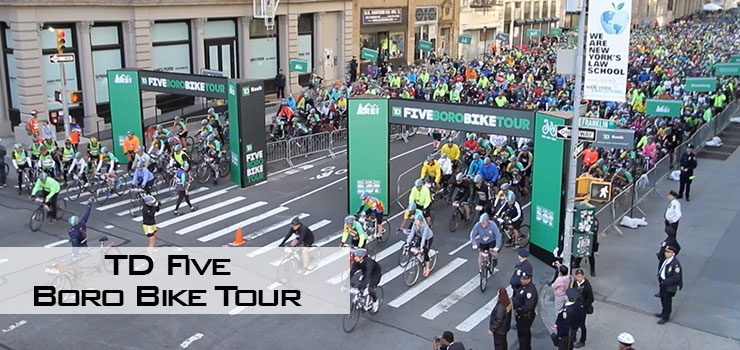 TD Five Boro Bike Tour Featured Image